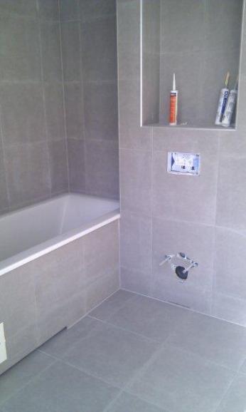 Badekar innebygget