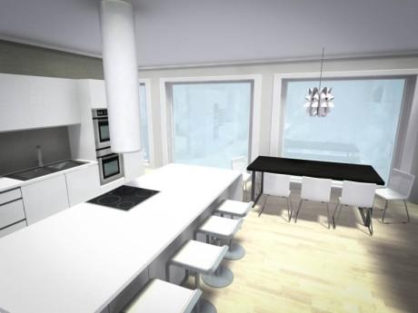 Planleggingsbilde kjøkken