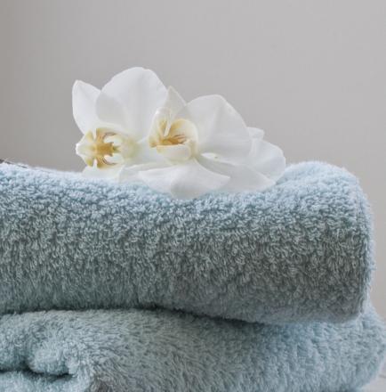 Håndklær i frisk farge