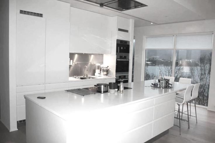 Hvitt kjøkken – nr14 interiørhjelp